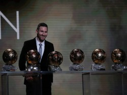 Lionel Messi Wins Sixth Ballon D Or Of His Career