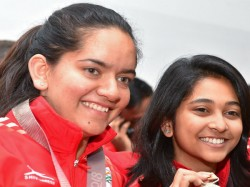 Mehuli Ghosh Won 10m Air Rifle Mixed Gold With Yash Vardhan 3rd Gold In Southasiangames