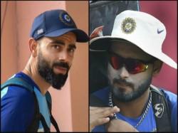 Virat Kohli Backs Rishabh Pant He Support The Youngstar