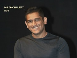 Ms Dhoni Left Out In Bcci S New Annual Player Contracts Big Question On Msd S Future