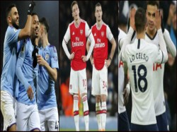 Manchester City Arsenal And Tottenham Hotspur Drew Their Respective Matches In Epl