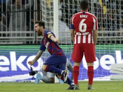 Lionel Messi Angry On Barcelona After The Defeat Against Atletico Madrid