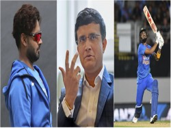 Bcci President Sourav Ganguly Opens Up On Kl Rahul Rishabh Pant Wicket Keeping Debate
