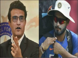 Sourav Ganguly Says About Rishabh Pant Talent