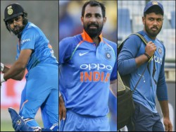 Rohit Sharma And Mohammad Shami Comes Back In India Squad