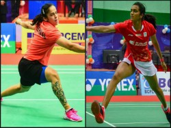 Indonesia Masters Pv Sindhu Enters 2nd Round Saina Srikanth And Praneeth Crash Out