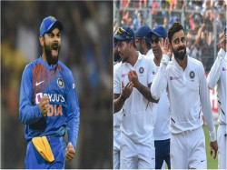 Icc Awards Virat Kohli Named Captain Of Odi And Test Teams Of The Year Look At The Teams