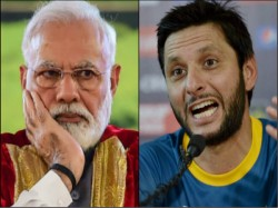 Shahid Afridi Speaks About The Chances Of India Pakistan Cricket Attacks Narendra Modi