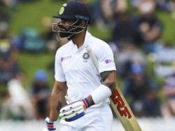 Virat Kohli Yet Again Fails To Score Ends Nz Trip With His Lowest Run Tally