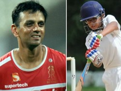 Rahul Dravid S Son Samit Dravid Hit 2nd Double Century Within 2 Months