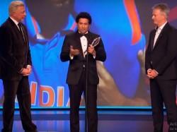 Sachin Tendulkar Awarded For Best Laureus Sporting Moment