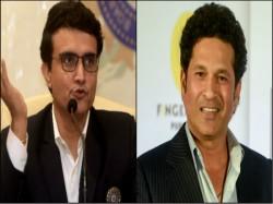 Sourav Ganguly Post Kismat Acha Hai Comment On Sachin Tendulkar S Post