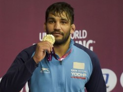 Sunil Kumar Wins Gold In Asian Wrestling Championships As Indian After 27 Years