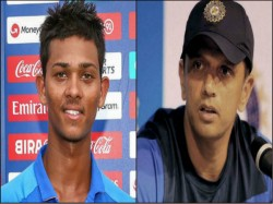 Rahul Dravid Inspire India S Under 19 Team Before Pakistan Clash