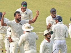 Bengal Reach Ranji Trophy Final Mohammed Shami Congratulate Team Mates