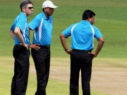 Umpire C Shamsuddin Has Ruled Out Of The Ongoing Ranji Trophy Final