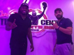 Chris Gayle Speaks Hindi With The Diction Of Yuvraj Singh