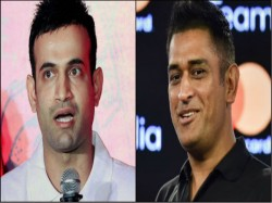 Bcci Should Give Answer On Ms Dhoni Says Irfan Pathan