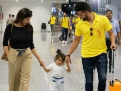 Indian Cricketer Suresh Raina And His Wife Welcomes A Boby Boy