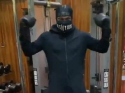 Chris Gayle Works Out With Super Hero Suit For Stay At Home Challege After Corona Outbreak