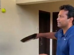 Leander Paes Accept The Frying Pan Challenge In Time Of Lockdown