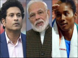 Sachin Tendulkar And Hima Das Urge People To Follow Lock Down