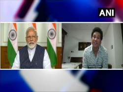 Prime Minister Narendra Modi Speaks To Sourav Sachin Virat And All Other Sports Personalities