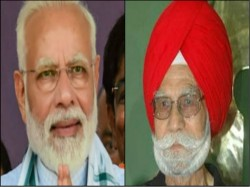 Prime Minister Narendra Modi Pained By The Demise Of Balbir Singh