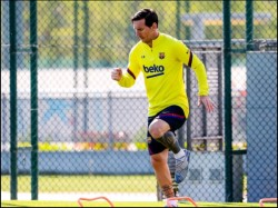 Barcelona S Captain Lionel Messi Accepts Risk As La Liga Hopes To Return Amid Corona Pandemic
