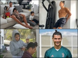 Cristiano Ronaldo Shares Sprint Training Video Backs In Football Mode After 2 Month Corona Pandemic