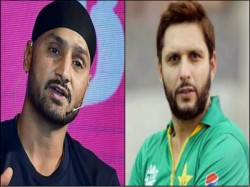 Harbhajan Singh Slams His Friend Shahid Afridi For His Controversial Remarks On Kashmir