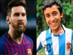 Years Old Kerala Boy Scores Lionel Messi Like Free Kick Viral Video