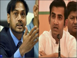 Gautam Gambhir And Msk Prasad Involved In War Of Words Over Selection Process