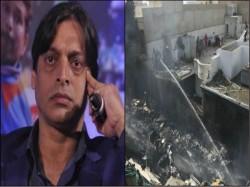 Shoaib Akhtar And Sania Mirza Offer Condolences On Pakistani Passenger Plane Crash