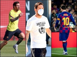 Corona In Sports Lionel Messi Missed Barcelona Training With Injury Reports