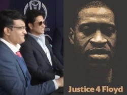Black Live Matters Sachin Tendulkar Give Reaction On George Floyd Death Shares Icc Reaction Video