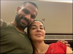 Indian Cricketer Shikhar Dhawan Adopted Two Dogs Amid Corona Pandemic Shares Picture With Them