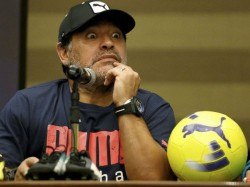 Diego Maradona Pulls His Trousers Down Continue Dance