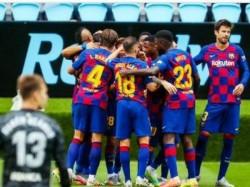 Fc Barcelona Draws With Celta Vigo Drop Two Points As Title Challenge Falters