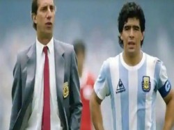 Argentina S Former Coach Carlos Bilardo Who Gave Maradona S Side 1986 Fifa World Cup Tests Corona