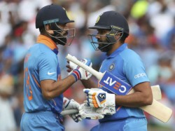 Virat Kohli And Rohit Sharma Retains Number One And Two Spot Of Icc Odi Ranking