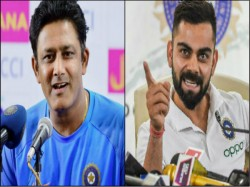 Legend Anil Kumble Speaks On Team India S Controversial Coaching Stint
