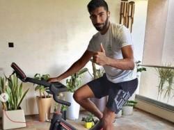 Jasprit Bumrah Keeping Himself Fit Post Workout Video