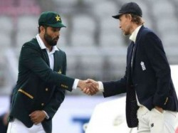 Pakistan Captain Azhar Ali Forgets About Social Distancing Shakes Hand With Root At Toss