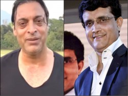 Shoaib Akhtar Termed Sourav Ganguly As One Of His Toughest Opposition
