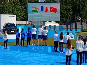 তিরন্দাজ বিশ্বকাপে রূপো ভারতীয় মহিলা দলের